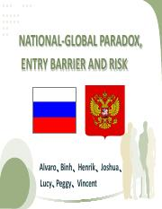 2_5_Russia_ENTRY BARRIER AND RISK  (Group 5-Submission) version 6
