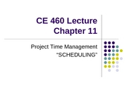 CE 460 Chapter 11