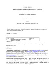DSP Lab Manual Experiment no 9