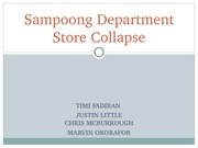 Sampoong Mall Collapse - Sampoong Department Store Collapse