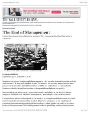 Murray_2010_The End of Management.pdf