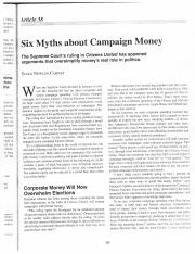 Carney, Six Myths about Campaign Money.pdf