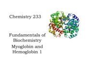 12 233 Chapter 10.0 Hemoglobin and myoglobin 1