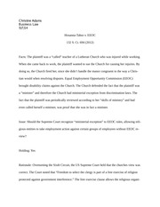 Business Law Case Brief #1