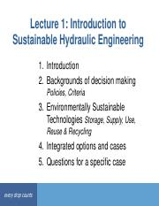 Lecture 1  Introduction to Sustainable Hydraulic Engineering.pdf