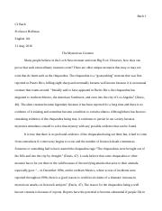 Monsters Essay.odt