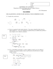 Exam 3 Solutions 11
