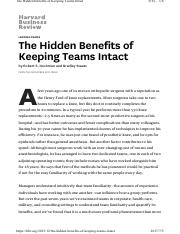 The Hidden Benefits of Keeping Teams Intact.pdf