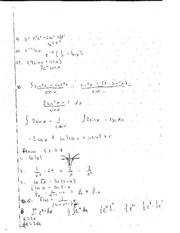 AP Calculus 5.1-5.4 review notes