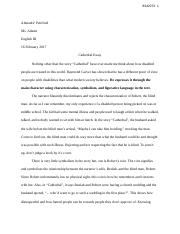 Cathedral Essay.docx