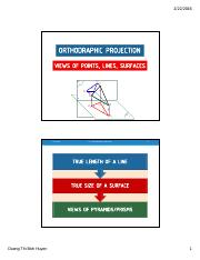ORTHOGONAL PROJECTION -3- STUDENT