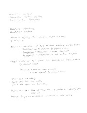Section 1 Notes Chemistry 1110