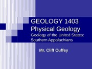 MC_PG_2012_Fall_lecture 22_Geology & Landforms_Appalachians_southern_text and diagrams