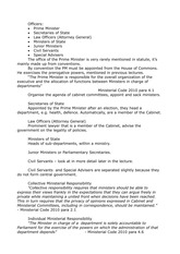 Public Law of the UK and Scotland - Lecture Notes - Officers