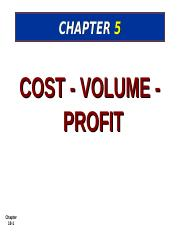 Managerial Accounting_Ch5