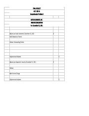 final_project_solution_sheet1 - Bank Recon. ACC - 101