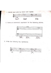 Music theory 1 review