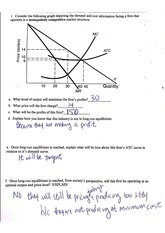 monopolistic competition worksheet
