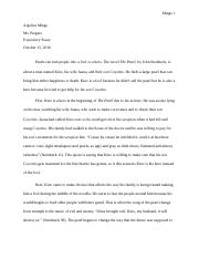 Expository Essay Final Draft