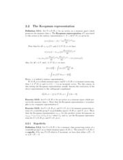 Lecture 12 - The Koopman representation