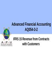 IFRS 15 Revenue from Contracts with Customers.pptx