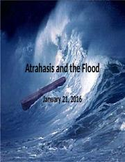 Atrahasis and the Flood, January 21, 2016 (3).pptx