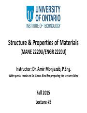 05 Structure and Properties of Materials Lecture #5(1).pdf