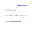Three Topics discounting toman trade  120110