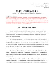 Unit 1 - Assignment 2