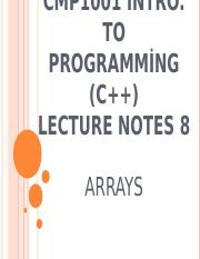 CMP1001_lecture_notes_8_arrays.ppt