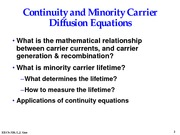 09_continuity+_+minority+carrier+diffusion+equations