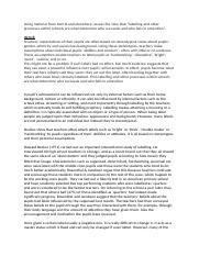Gender differences essay