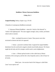 Rel 101 Content Outline (Buddhism 4)-2