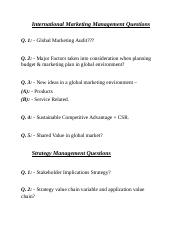 International Marketing Management Questions.docx
