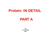 Microsoft PowerPoint - Protein PART A