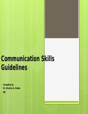 Communication Skills Guidelines.pptx