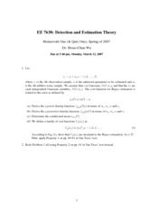EE7630_spring_2007_homework 1 Solution