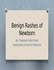 Benign Rashes of Newborn.pptx final