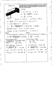 895_Mechanics Homework Mechanics of Materials Solution