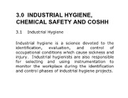 009 RiskAnalysis+-+Industiral+Hygiene+Chemical+Safety+and+COSHH_ppt