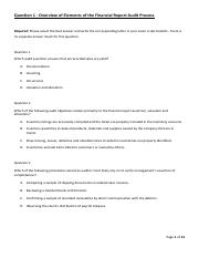Auditing 2012 exam questions