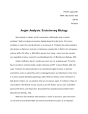 Angier_Evolutionary Biology