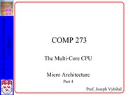 Lecture 14 - Multi-core CPU