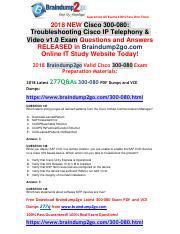 300-080 (114-124) (4) pdf - Guarantee All Exams 100 Pass One