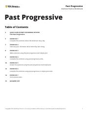 Past Progressive – Grammar Practice Worksheets – ESL Library ...