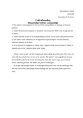Copy of Critical reading rescue financial