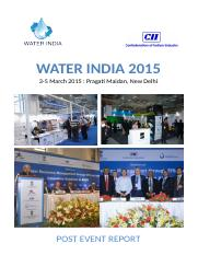 Water India 2015