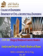 CVEN320-Analysis and Double Reinforced Beams.pdf