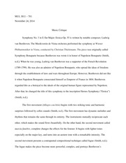 mul western art music in your life usf page  4 pages music critique paper