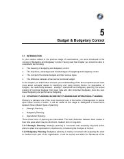 6. Chapter 5 - Budget and Budgetary Control.pdf